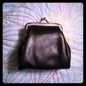 New Buxton Leather Coin Purse